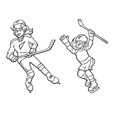 The-Sisters-Playing-Hockey