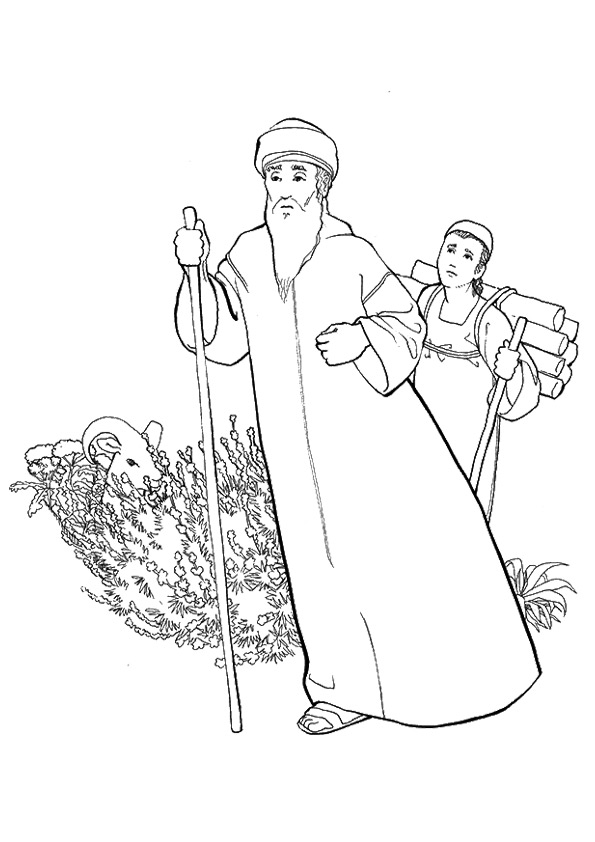 The-abraham-and-isaac