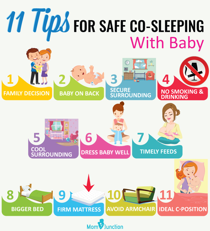 Tips For Safe Co-Sleeping With Baby