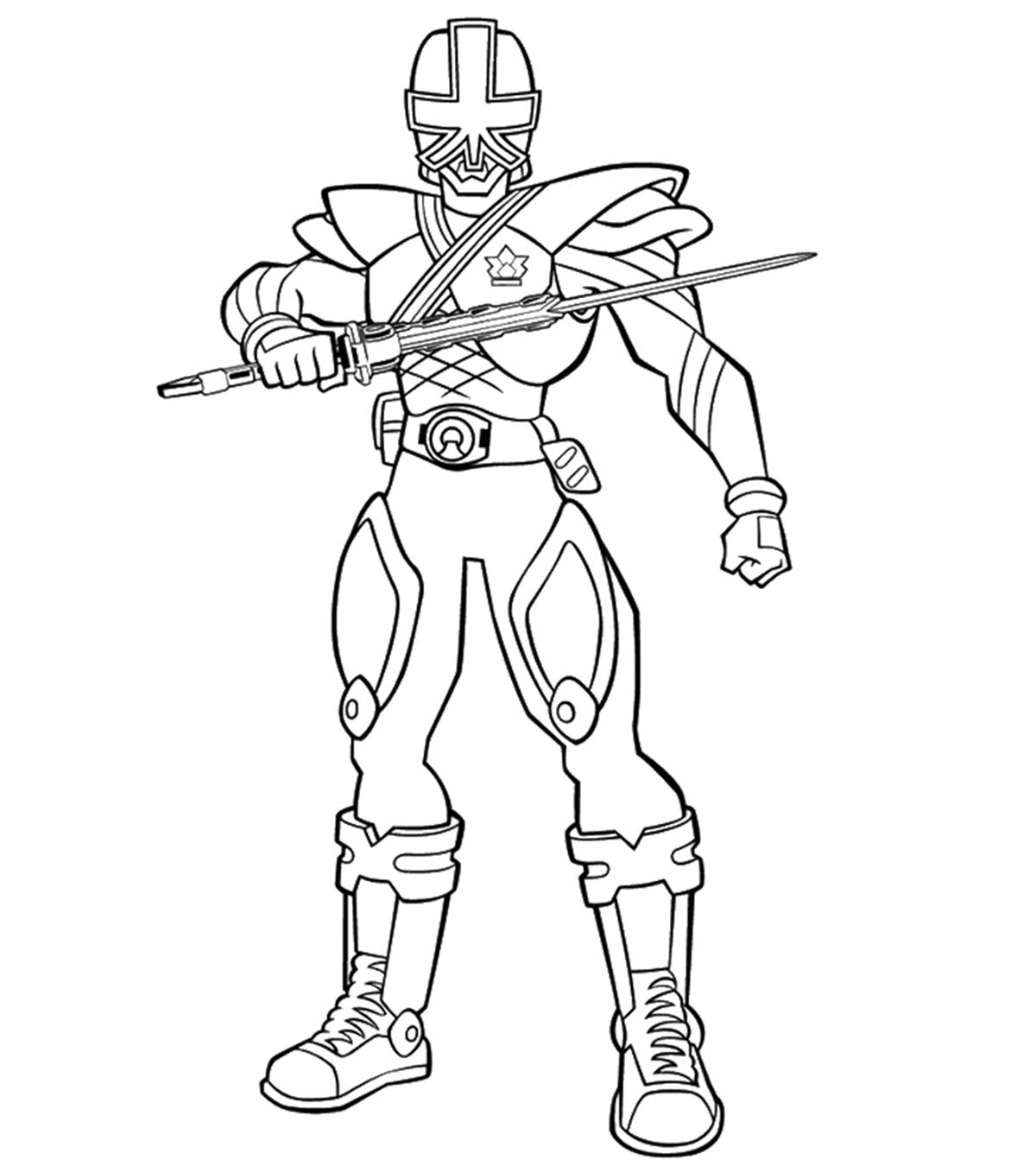 Top 25 Free Printable Power Rangers Megaforce Coloring Pages