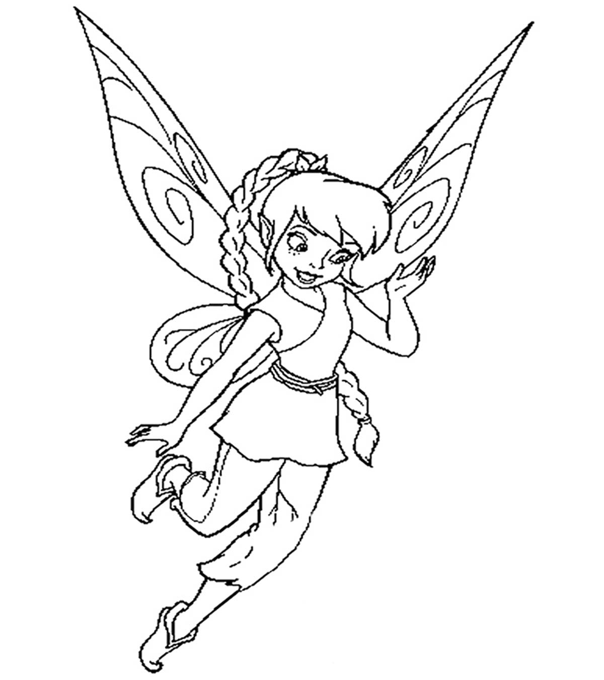 Tinkerbell Coloring Pages Pdf
