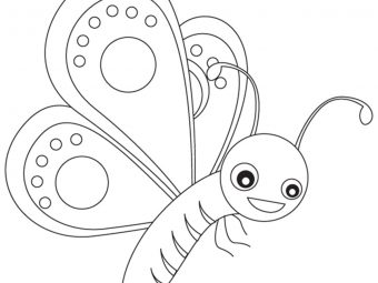 Top 50 Butterfly Coloring Pages For Your Toddler