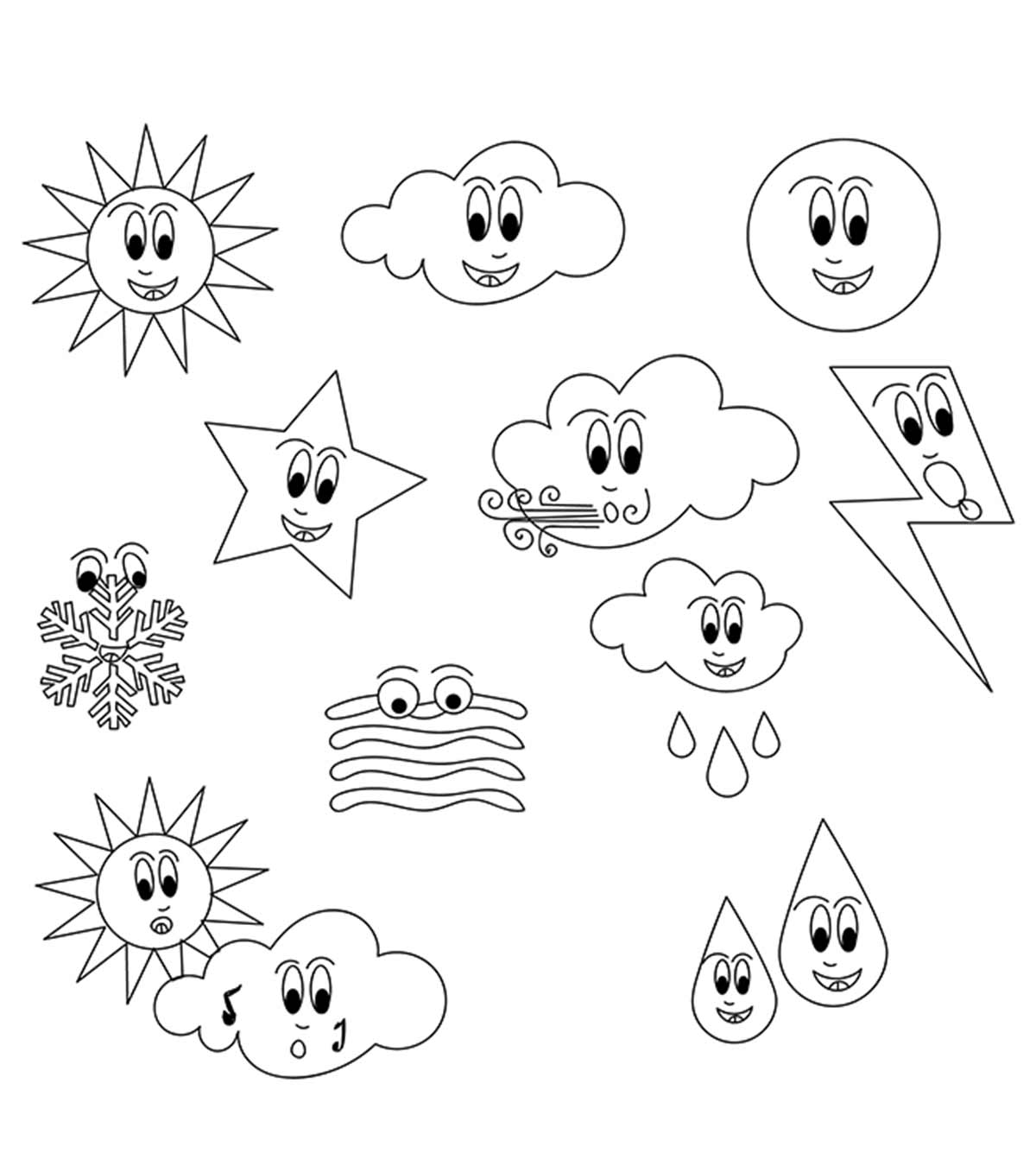 - Top 10 Free Printable Weather Coloring Pages Online
