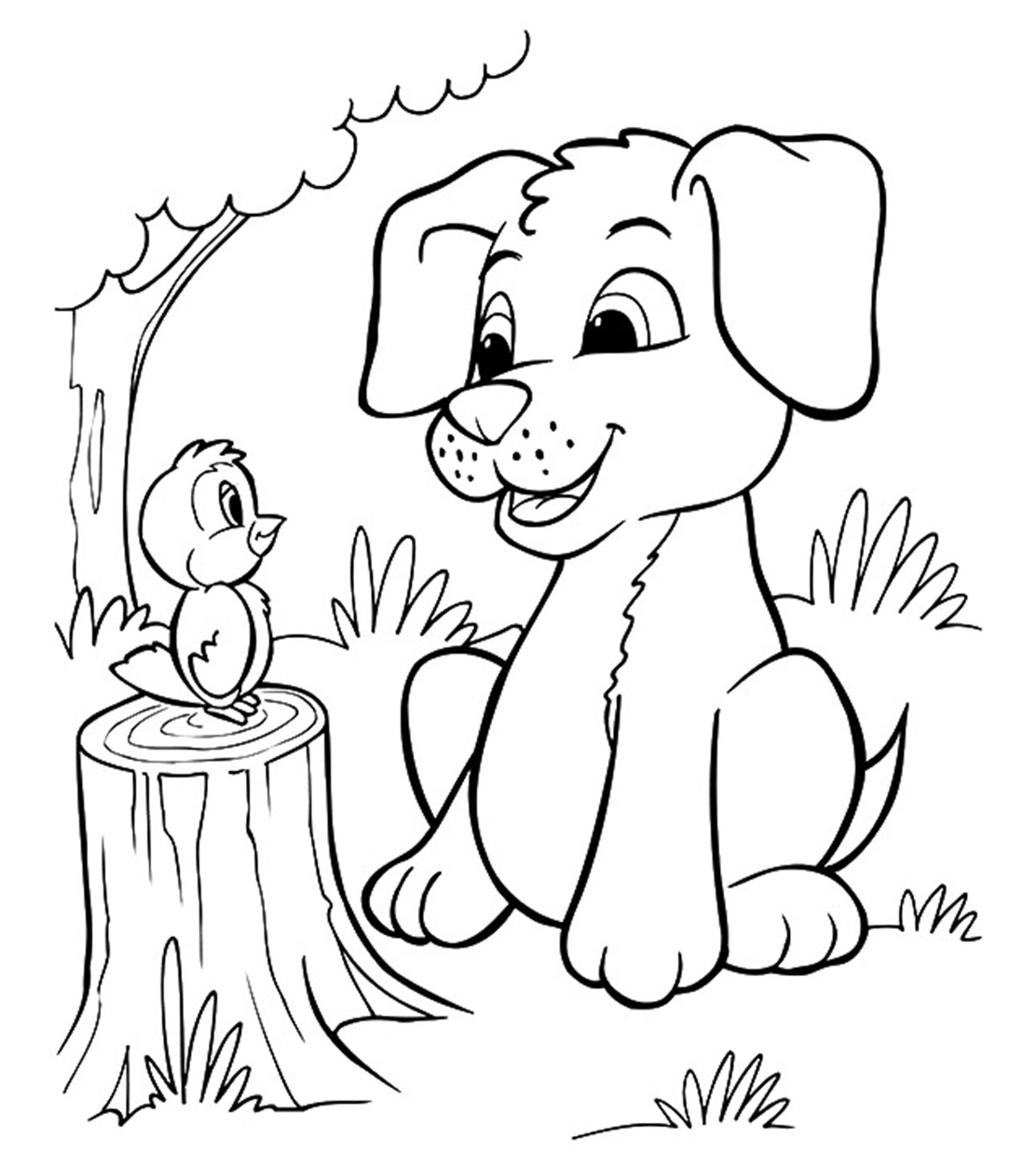 photo about Puppy Printable Coloring Pages identify Final 30 Totally free Printable Canine Coloring Web pages On-line