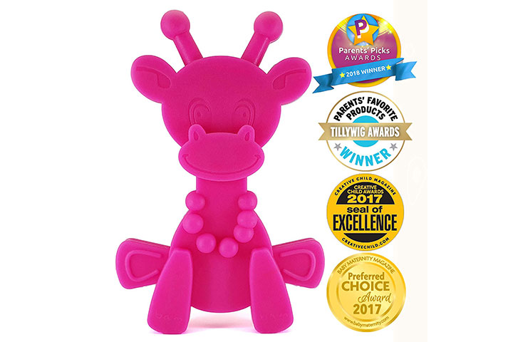 Bambeado Little Bambam Giraffe Teether Toys