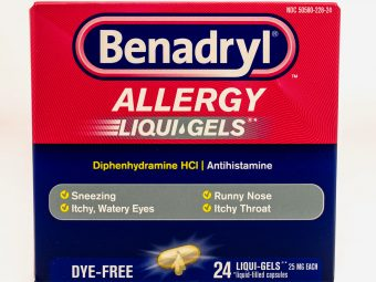 Benadryl For Babies: Is It Safe, Dosage And Alternatives
