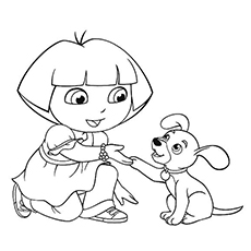 The-Dora-With-Pup