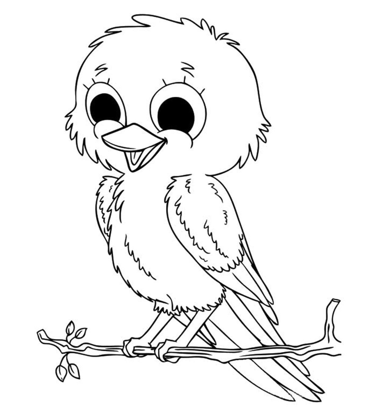 33 Tremendous Bird Coloring Book Printable – azspring | 1350x1200
