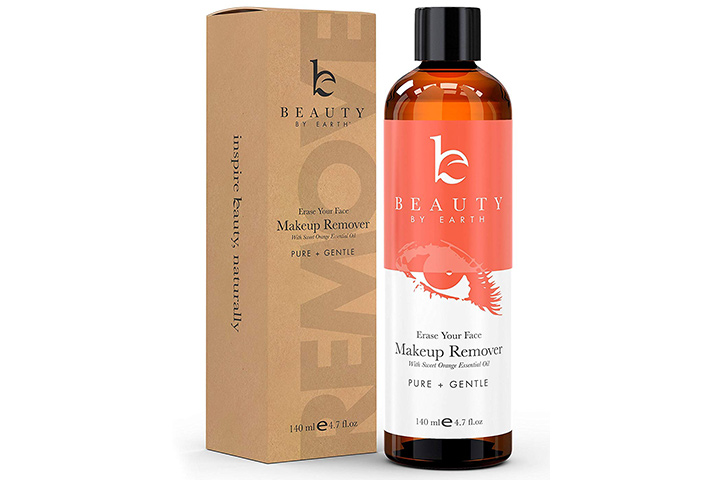 Beauty by Earth Organic Makeup Remover