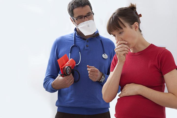 Опасность бронхита для беременных