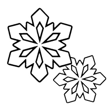 Hexagonal Plates Coloring Page to Print