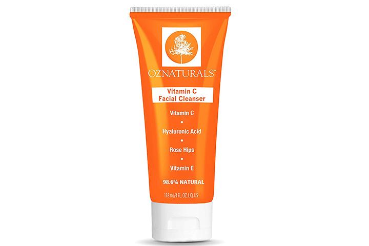 OZ Naturals Vitamin C Facial Cleanser