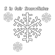 S For Snowflake