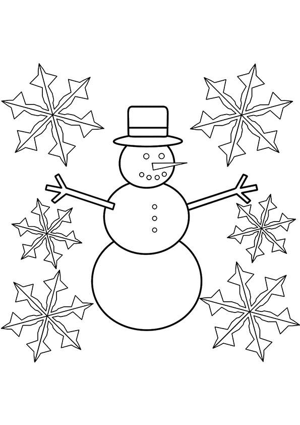 Snowman-And-Snowflake