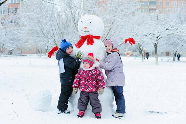 Snowman hat-trick