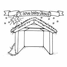 Free Printable Nativity Coloring Pages Online For Kids