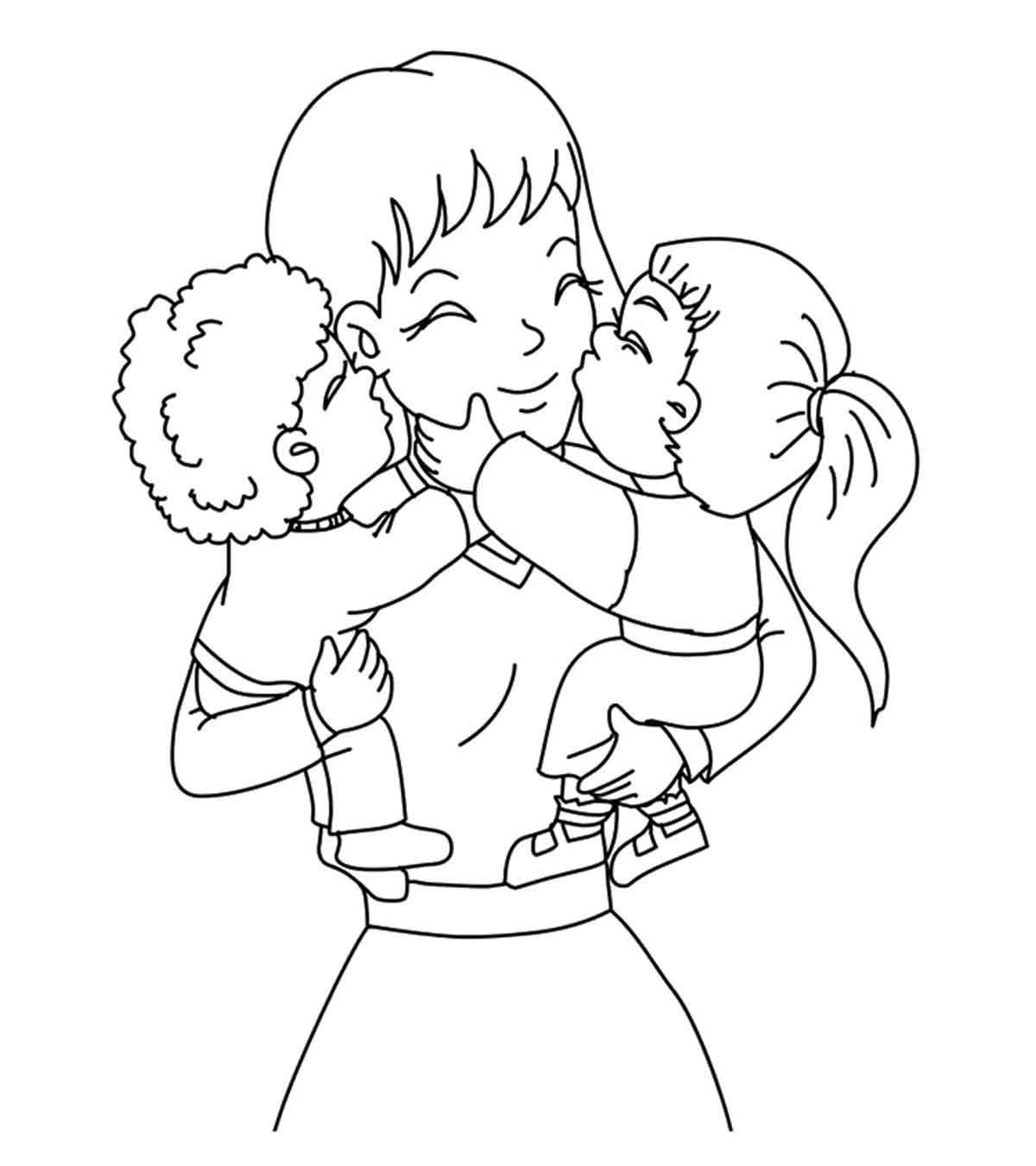 World Teacher Day Coloring Pages | Drawing for Kids | How to Draw ... | 1350x1200