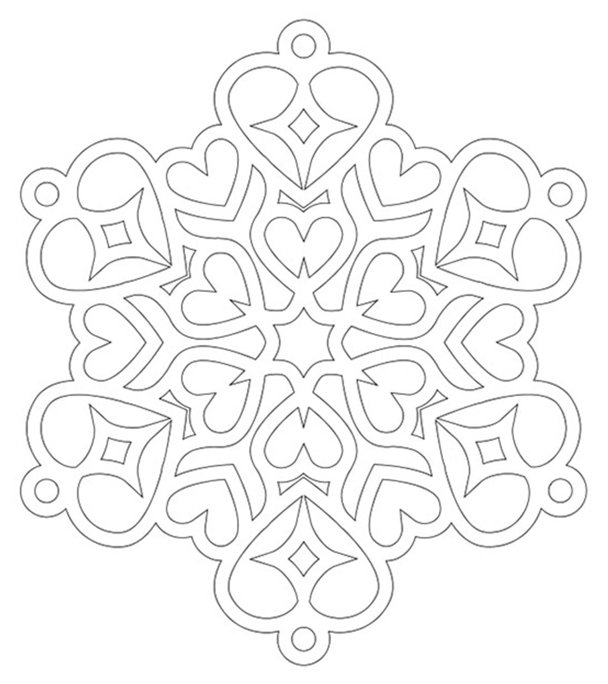- Top 20 Snowflake Coloring Pages For Your Little Ones