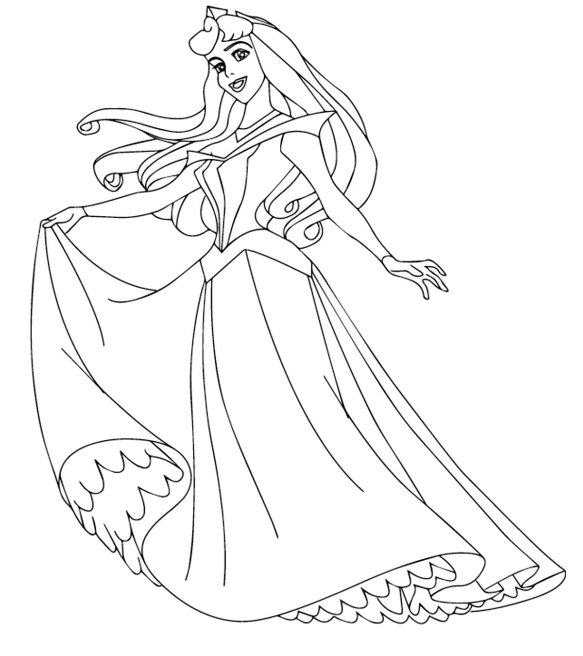- Top 25 Disney Princess Coloring Pages For Your Little Girl
