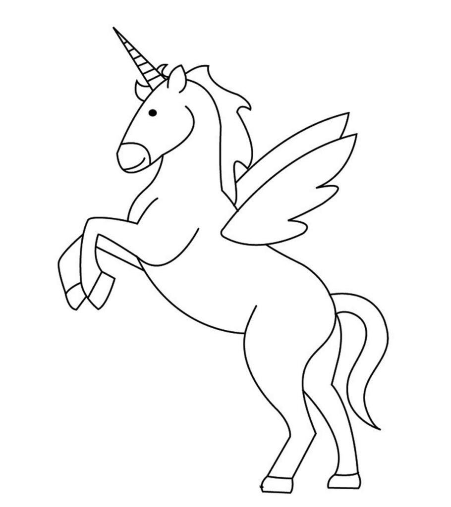 Top 50 Free Printable Unicorn Coloring Pages