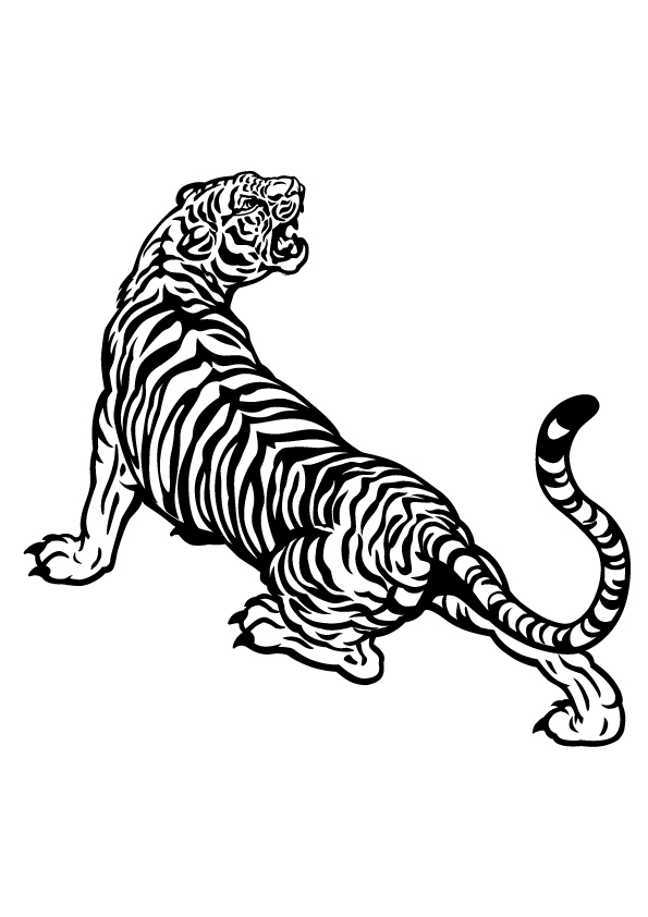 tiger-black-and-white