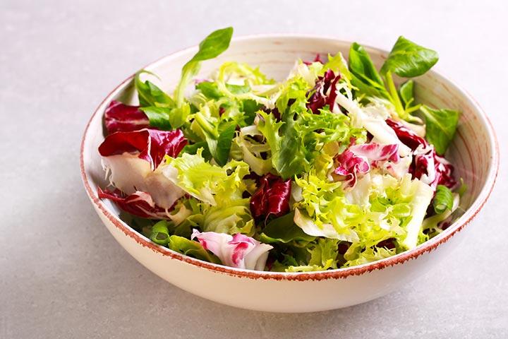 Labor-inducing salad