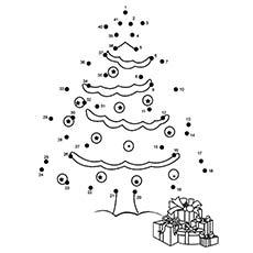 Christmas-Tree-Dot-To-Dot