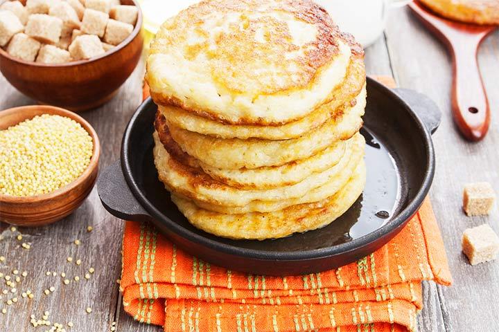 Millet pancake
