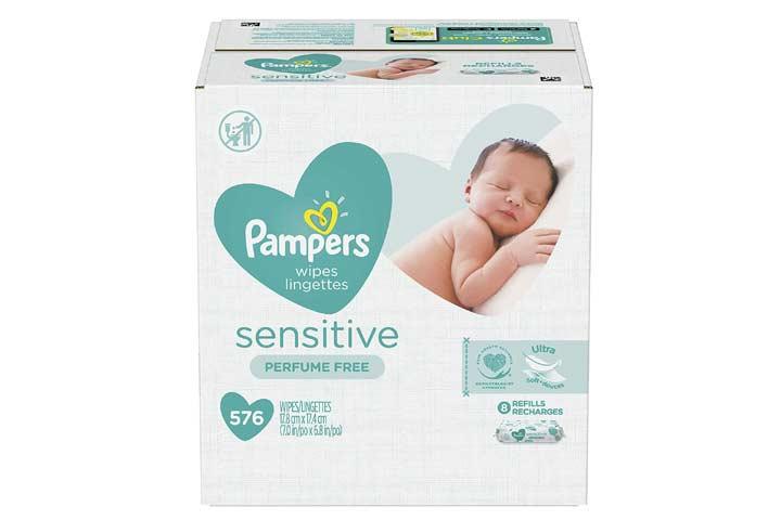 Pampers Wipes Lingttes Sensitive