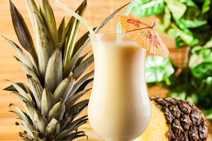 Pina Colada Mocktail Recipes Pictures
