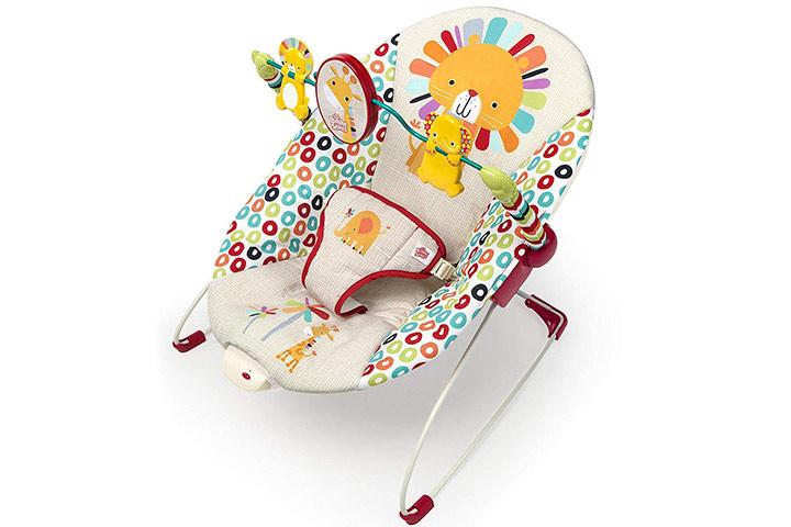 Playful Pinwheels Bouncer