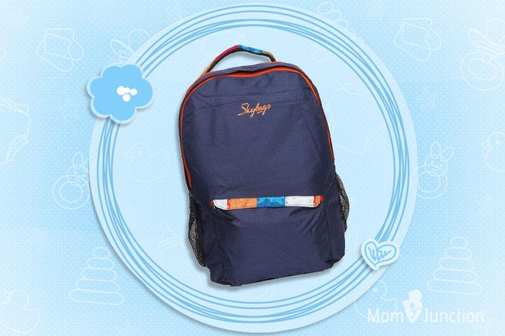 Skybag Blue & Orange Backpack