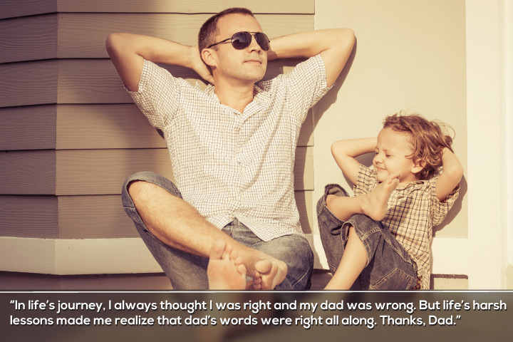 Thanks, Dad - Thank you Quotes for Dad