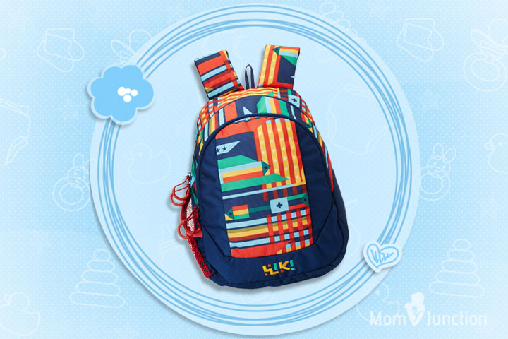 Wiki Daypack 14 Liters Blue Casual Backpack