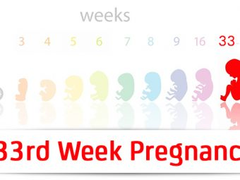 33rd Week Pregnancy: Symptoms, Baby Development And Bodily Changes