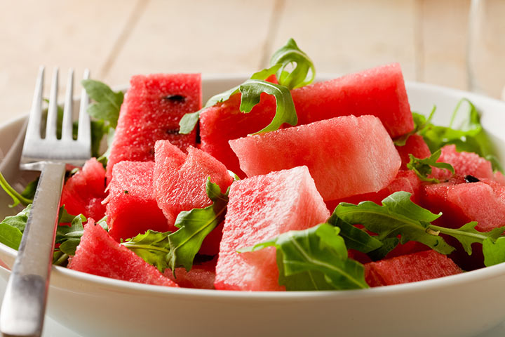 Avocado Watermelon And Spinach Salad