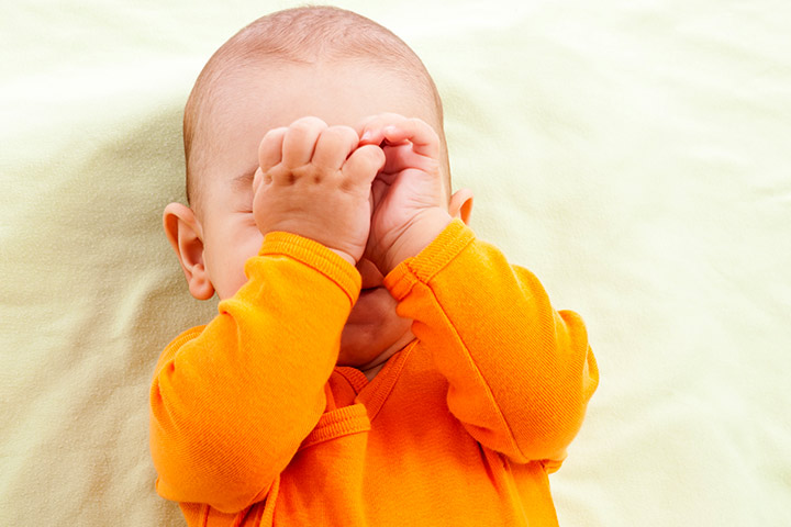 Does Your Baby Rub His Eyes