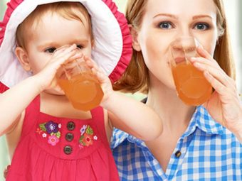 Is It Safe To Drink Apple Juice While Breastfeeding?