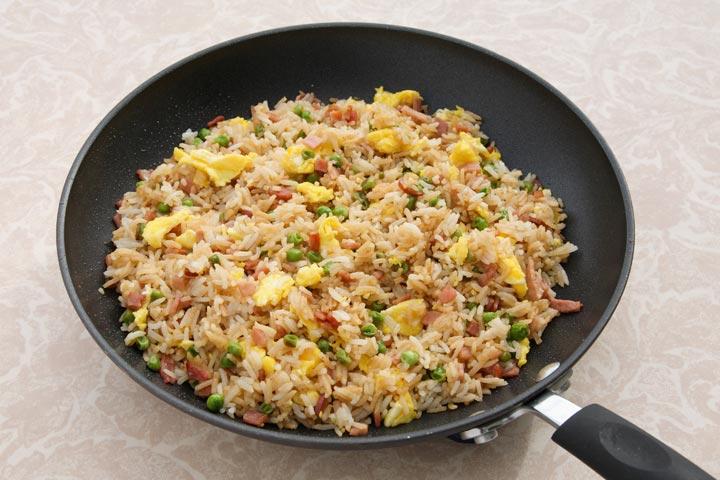 Veggie Egg Rice