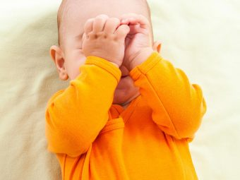 Why Do Babies Rub Their Eyes And How To Prevent Them From Doing It?