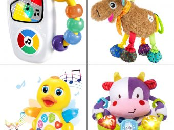 15 Best Toys To Buy For 3-Month-Old Babies In 2021