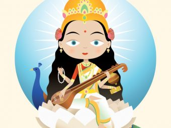 43 Best Names Of Hindu Goddess Saraswati For Your Baby Girl