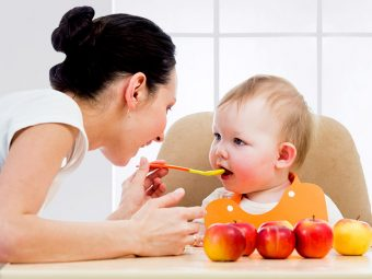6 Simple Steps To Prepare Apple Puree For Your Baby