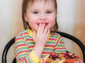 Top 10 Health Benefits Of Pomegranate For Kids