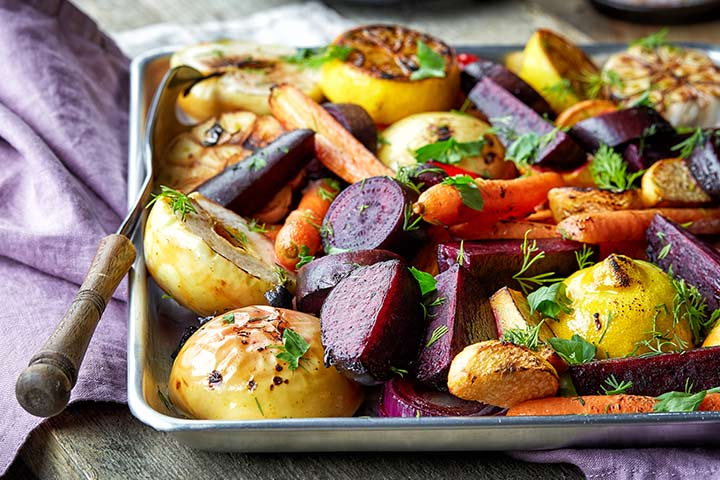 Yummy Roasted Vegetables