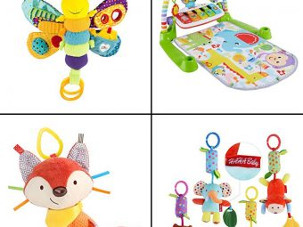 13 Best Toys For One-Month-Old Baby In 2021