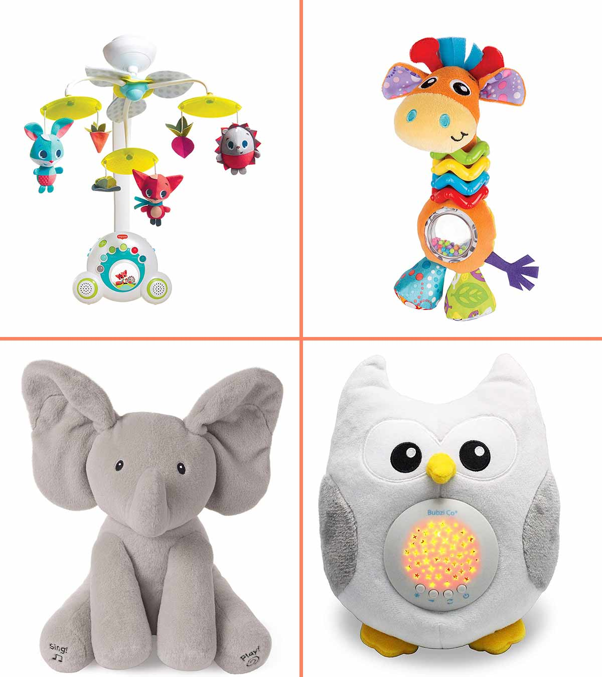 Baby Spiral Rattle Toy Plush Soft Toy Newborn Crib Toy Baby Infant Toys Gift C