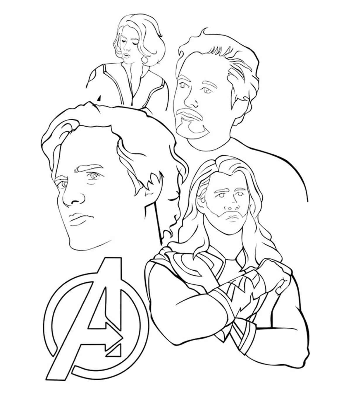30 wonderful avengers coloring pages