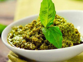 5 Wonderful Health Benefits Of Pesto During Pregnancy