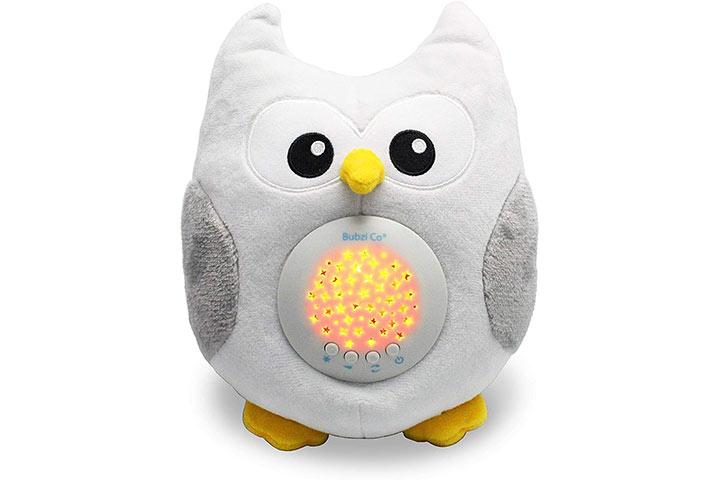 Bubzi Co Baby Toys Owl White Noise Sound Machine 4784